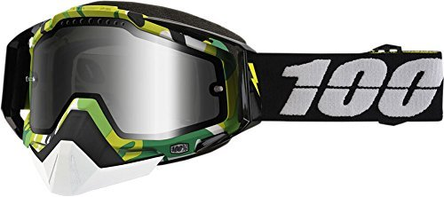 100% Racecraft Bootcamp Mirror Snowmobile Goggles