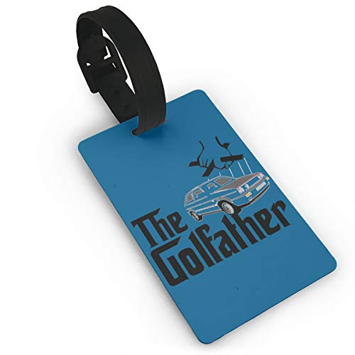 (The Golfather Golf GTi Mk1 Mk2 Mk3 Mk4 Mk5 Mk6 PVC Luggage Tags, Travel ID Baggage Bag Labels)