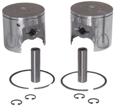 WSM Piston Kit - Standard Bore 69.75mm 010-830K