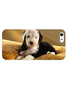 3d Full Wrap Case For Sam Sung Galaxy S5 Cover Animal Old English Sheepdo