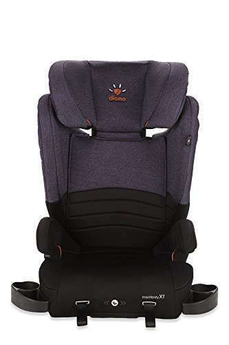 Diono Monterey XT Booster 2-in-1 Car Seat, For Children from 40-120 Pounds, Purple