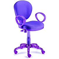 New Spec Task Chair Modern, Purple