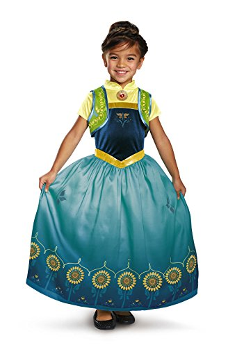 Disguise Anna Frozen Fever Deluxe Costume
