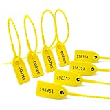Security Seal Pull Tight Plastic Tags, Anti