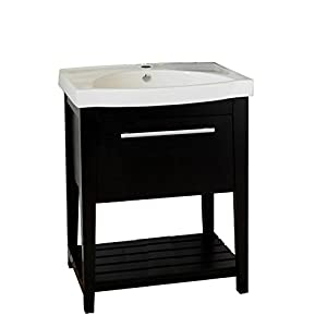 Bellaterra Home 804353 27 5 Inch Single Sink Vanity Wood