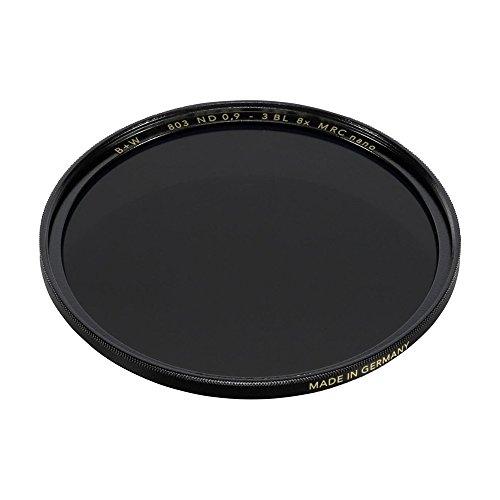 B+W 37mm 0.9-8X Multi-Resistant Coating Nano Camera Lens Filter, Gray (66-1089169)