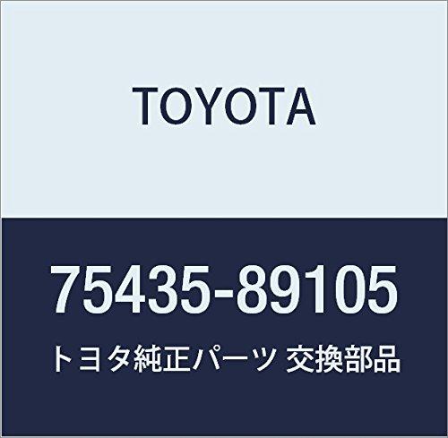 TOYOTA 75435-89105 Name Plate