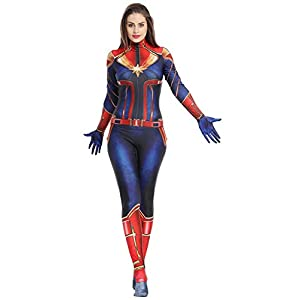 Halloween Captain Marvel Outfit
