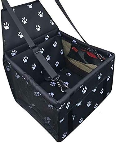 Srfghjs Bolsas para Maletero del Coche Asiento Oxford Alquiler Viaje del Animal doméstico del Gato Perros Almohada Jaula Plegable cajón Box Llevar Bolsas de Animales Suministros