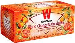 Wissotzky Tea - Blood Orange & Mandarin Scent - Caffeine Free, 1.76-Ounce Boxe