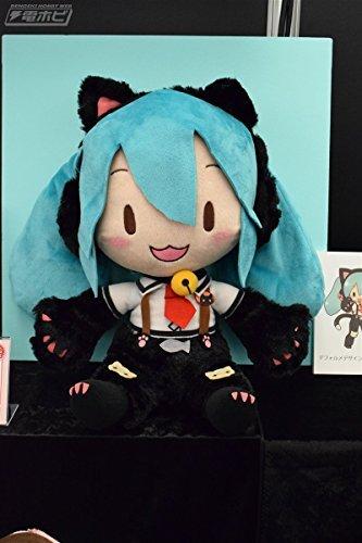Hatsune Miku Vocaloid Project DIVA Arcade Future Tone Mega Jumbo Stuffed Plush Doll Nyanko Ver.
