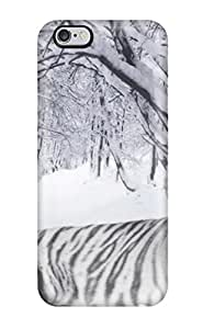 Fashionable VWzfLOE1826LSNJF Iphone 6 Plus Case Cover For Amazing White Tiger Protective Case