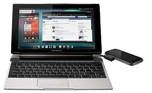 Motorola Lapdock 100 for Motorola Smartphones - Charger - Retail Packaging - Silver