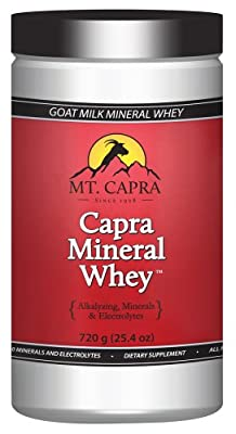Mt. Capra Products - Capra Goat Milk Mineral Whey