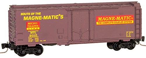 Micro-Trains MTL Z-Scale 40ft Standard Box Car 30th Anniversary Special #2015