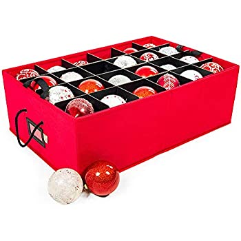 Amazon Com Brobery Christmas Ornament Storage Bag 3 Quot Or