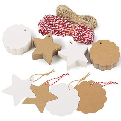 Tolle Geschenkanhänger zu Weihnachten Ich habe dieses Set bestellt um Geschenkanhänger selber zu gestalten.   Ich beschriftet sie mit einem Spruch oder ich bestempel sie mit verschiedenen Motiven, ob Weihnachten oder Ostern, die Anhänger si