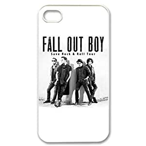 Fall Out Boy pattern Image 4 Case Cover Hard Plastic Case tive Iphone 4s / Iphone for Iphone 4 4sprotec