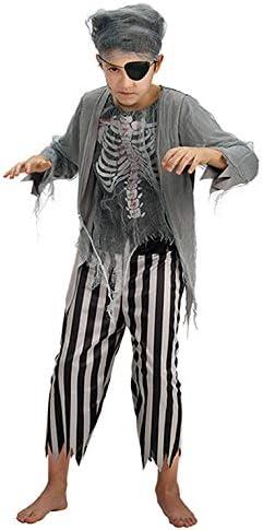Disfraz Zombie Pirata TG.V 6/7 años - Carnival Toys 68698 ...