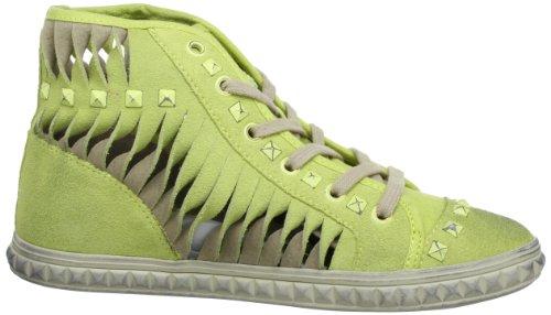 Fornarina KATE - Zapatillas de cuero mujer amarillo - Gelb (lemon / ice 500)