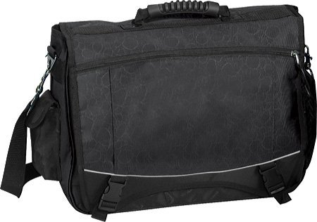 Bellino Monsoon Collection Flap-Over Compucase Bellino Flap Over Briefcase