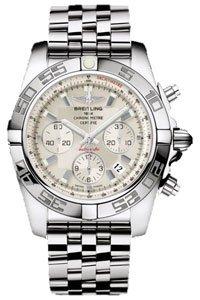Breitling AB0110-045 - Reloj de pulsera hombre, acero inoxidable: Amazon.es: Relojes