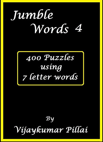 jumble words 4 400 puzzles using words of 7 letters by pillai vijaykumar