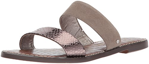 Sam Edelman Women's Gala Slide Sandal Pewter/Putty discount new styles buy authentic online PEYHk2D