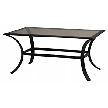 Bellevue, 24 x 40 Glass Top Coffee Table