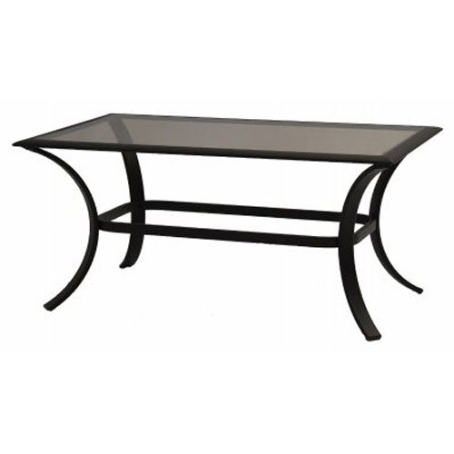 Patio Master Corp Bellevue, 24'' x 40'' Glass Top Coffee Table by Patio Master Corp