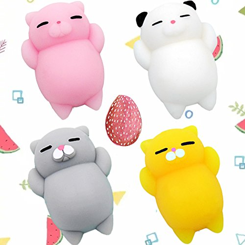 Squishy Collection Blog : Mochi Squishy Toys HAIYOO Kawaii Squishy Cats Mini Squishy Squeeze Collection Stress Reliever ...