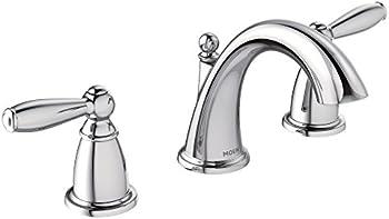 Moen T6620 Brantford Two-Handle Widespread Faucet