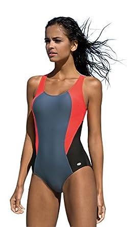 Femme Maillot de bain natation materiel endurance une pièce, sportif pour nager