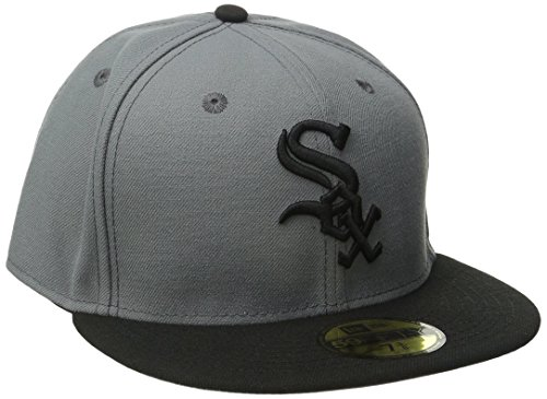- MLB Chicago White Sox MLB Basicstm/Gry 59Fifty, STORM GRAY/BLACK, 7 3/8