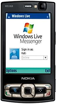 Phone Sim Nokia Free Black - Mobile 8gb N95