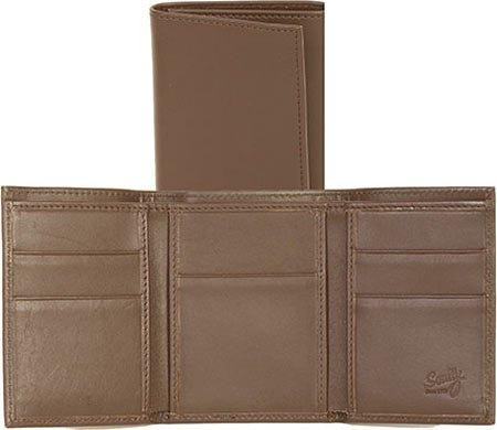 Tobacco Mens Harness Bill Three Western Scully Fold Wallet Divider Ranger RG10 xFqv4t