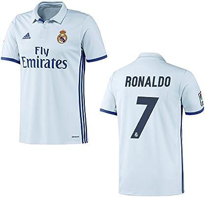 adidas Camiseta Real Madrid Home Hombre 2016/2017 – Cristiano Ronaldo 7, Ronaldo 7: Amazon.es: Deportes y aire libre