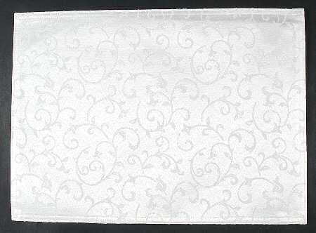 Lenox Opal Innocence Cloth Placemat, Fine China Dinnerware
