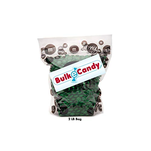 Dark Green M&M'S Bulk Candy Bag -