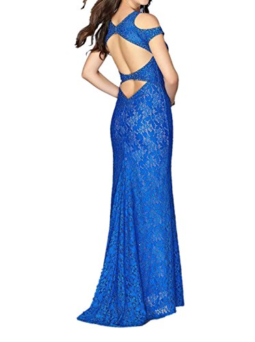 La mia Braut Royal Blau Spitze Abendkleider Ballkleider Partykleider  Festlichkleider Brautmutterkleider Figurbetont Etuikleider Rot q7IYjEM ... 69eb3daee7