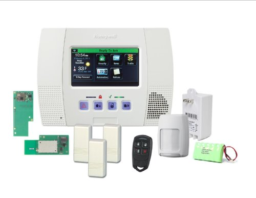 Honeywell Lynx Touch 5100 Wireless Alarm Wifi Zwave Home Aut