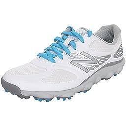New Balance Women\'s Minimus Sport Spikeless Golf Shoe, White, 9 B US