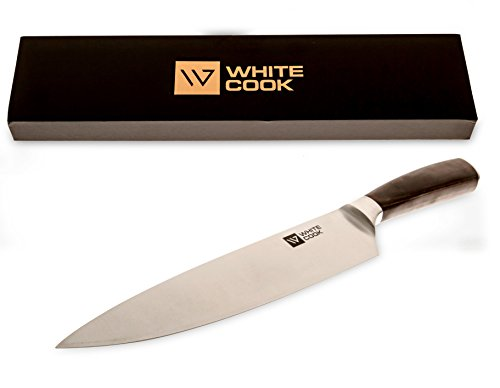 chef knife 8 inch set with case gift professional kitchen knife best cutting for a cooking. Black Bedroom Furniture Sets. Home Design Ideas