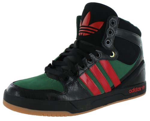 adidas Court Attitude Men Shoes Sneakers Black/Light Scarlet (light red) Q32947 6nyfWdqN