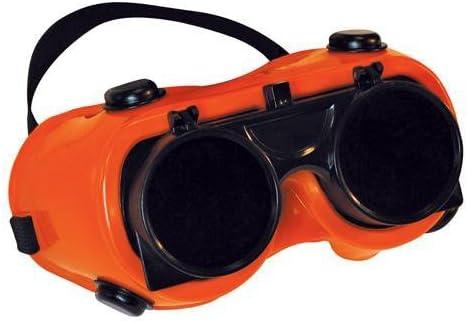 溶接安全ゴーグル/メガネクリア–フリップアップlens-ろう付けby Cablefinder