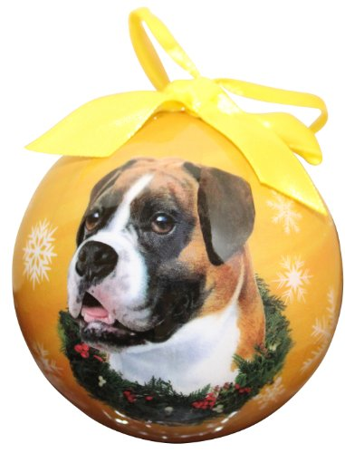 Christmas Boxer Ornament Dog - Boxer Christmas Ornament Shatter Proof Ball Easy To Personalize A Perfect Gift For Boxer Lovers