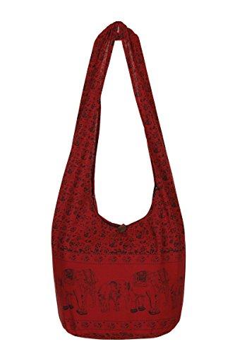 ThaiUK, Borsa a spalla donna rosso