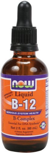 NOW Foods B-12 Liquid B-Complex 16 ounces by NOW