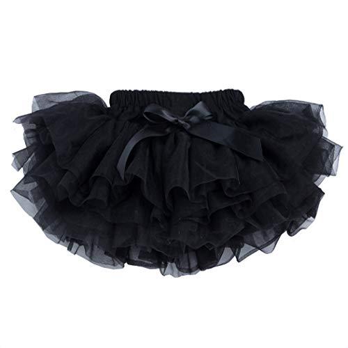belababy Baby Girls Tutu Skirt with PP Shorts,Black 24 Months