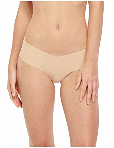Shirley Spandex Bikini - commando Women's Solid Girl Short GS01 True Nude LG/XL